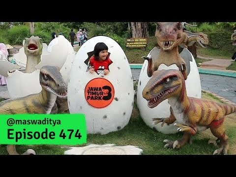 Ternyata Kulit Dinosaurus Seperti Squishy! - Jatim Park 3 (1/2)