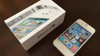apple iPhone 4S 64gb White Unboxing