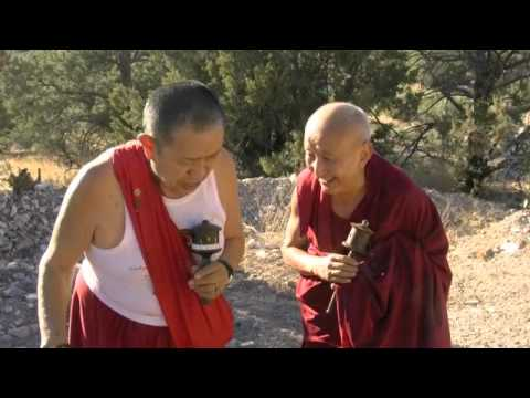 Garchen Rinpoche and Nubpa rinpoche and meeting.m4v