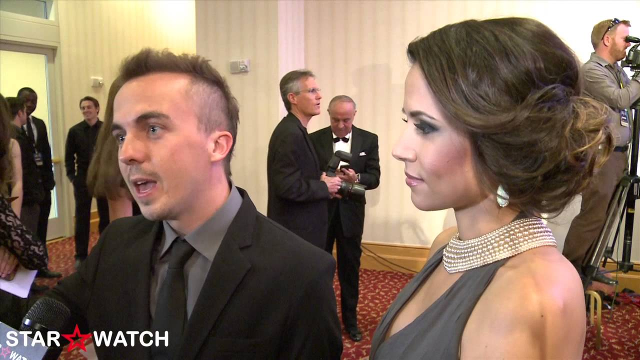 Frankie Muniz Celebrity Fight Night 2013 red carpet ...