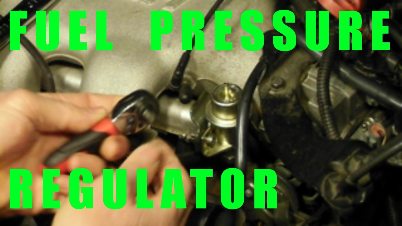 small resolution of change fuel pressure regulator replacement how to diy gm 3100 and 3400 v6 engine cars youtube