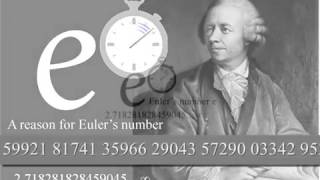 A reason for Euler's number e within Nature and Physics, linked to the Logarithmic Spiral