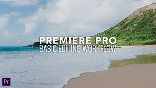 How to EDIT VIDEOS in Premiere Pro.