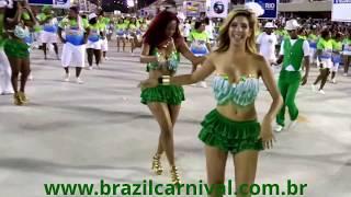 CUTE SAMBA DANCER: 15 YEARS OLD AT RIO CARNIVAL PARADE, GRACEFUL