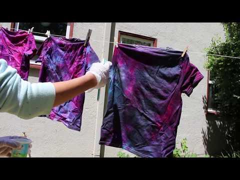 5ffe52e5b DIY Galaxy Tie Dye - YouTube
