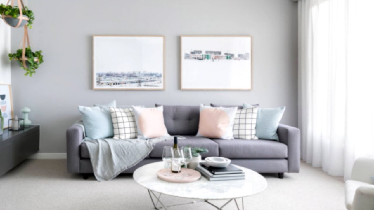 45+ Gorgeous Grey Living Room Ideas - YouTube