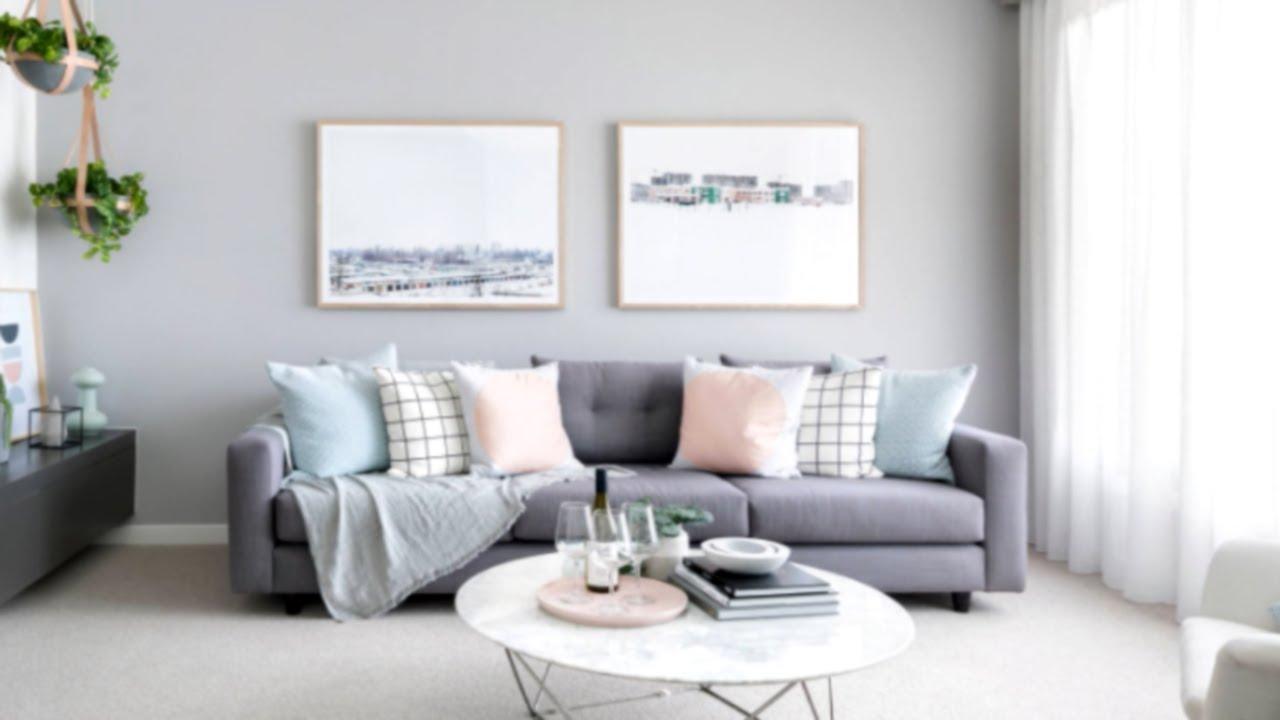 45 Gorgeous Grey Living Room Ideas Youtube