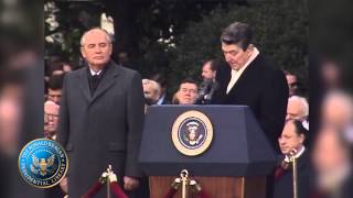 Remarks at the Welcoming Ceremony for General Secretary Mikhail Gorbachev of the U.S.S.R. 12/8/87