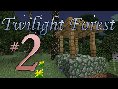 Minecraft Twilight Forest #2 - Down A Well
