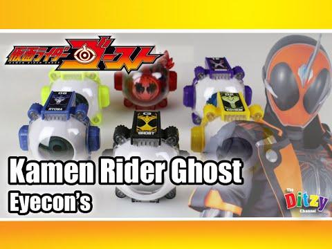 Kamen Rider Ghost Eyecon Toys 眼魂 Japanese Gashapon Capsule Toys