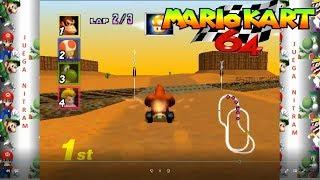 Mario Kart 64 Tournament: Mushroom Cup EXTRA con Donkey Kong