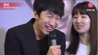 Lee Kwang Soo and his robot dance