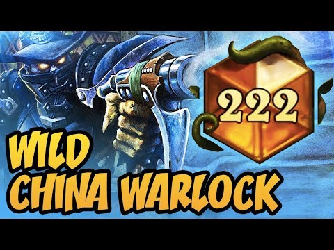 Wild China Warlock Is Now Awesome! | Rastakhan's Rumble | Hearthstone