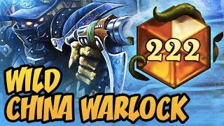 Wild China Warlock Is Now Awesome! | Rastakhan's Rumble | Hearthstone