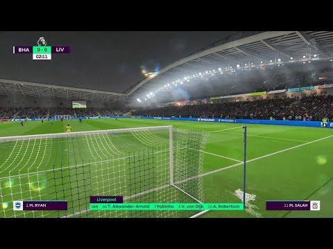 LIVERPOOL VS BRIGHTON FIFA 19 LIVE GAMEPLAY Mp3