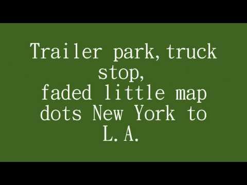 Kenny Chesney- American Kids (Lyrics)
