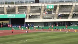 男子200m決勝 高平慎士20.94(-0.3) 2010/5/16東日本実業団
