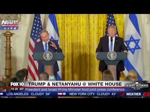 FNN: President Trump & Israeli Prime Minister Benjamin Netanyahu - FULL White House Press Conference