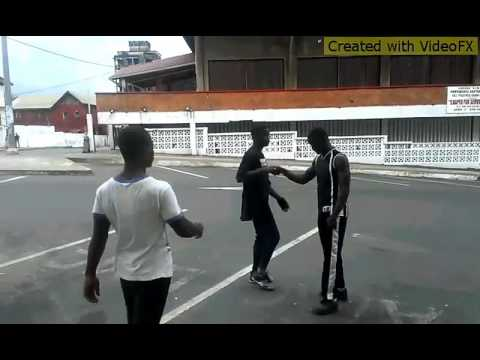 Breaking record from republic of Liberia doing Radical on the stree