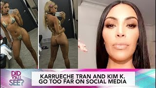 Karrueche Tran Body Shamed & Kim K. Admits She's Naive | Did Y'all See?