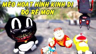 GTA 5 - Mèo hoạt hình kinh dị phiên bản Đôrêmon (Doremon Cat Cartoon)