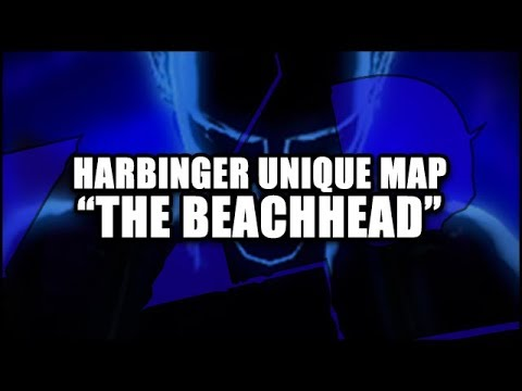 "PATH of EXILE 3.0: Harbinger Unique Map ""The Beachhead, Harbinger Map"" First Run (T10)"
