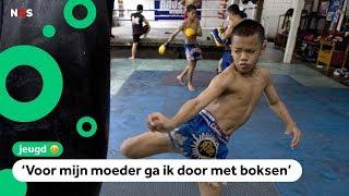 Kinderen in Thailand moeten soms vechten voor geld