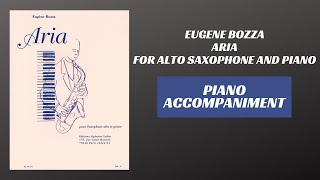 Eugene Bozza – Aria (Piano Accompaniment)