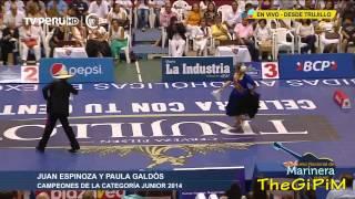 DESPEDIDA CAMPEONES JUNIOR 2014 ( HD ) - 55 CONCURSO NACIONAL DE MARINERA 2015