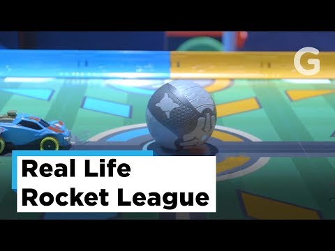 Rocket League In Real Life | 2018 New York Toy Fair