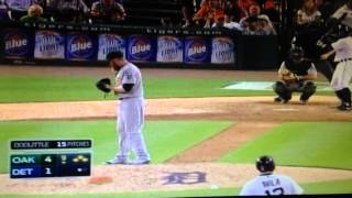 Tigers AMAZING 9th inning comeback vs the Athletics capped by a walkoff GRANDSLAM by Rajai Davis!!!