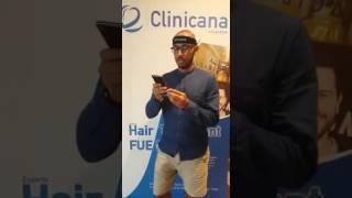 تجربة زراعة الشعر مع السيد باسل من المملكة العربية السعودية في مركز Clinicana