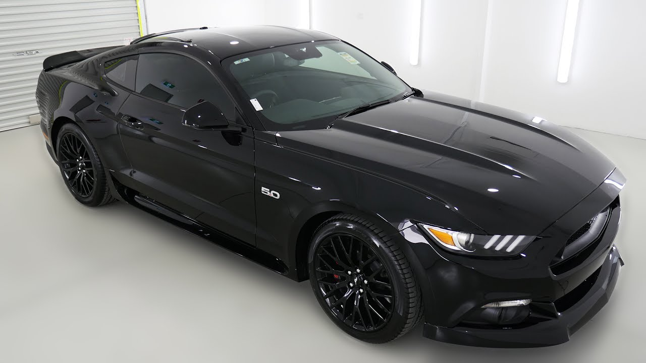 ford mustang fastback shadow black auto coupe lbzk no logos youtube. Black Bedroom Furniture Sets. Home Design Ideas