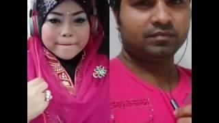 Hotope Baas Tera Naam hain cover by shahin and nadia
