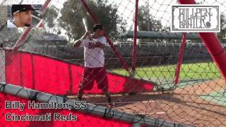 Billy Hamilton prospect Video, Cincinnati Reds