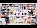 CALLING ALL PRODUCT JUNKIES | MY NATURAL HAIR PRODUCT STASH!