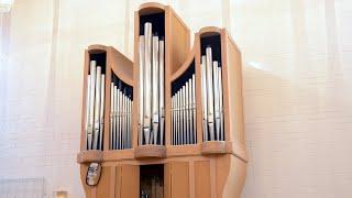 Benny Andersson. Tröstevisa på orgeln i Gullängets kyrka, Örnsköldsvik.