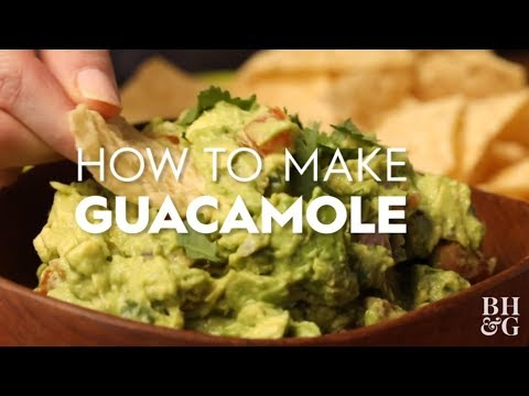 How To Make Guacamole | Global Eats | Better Homes & Gardens