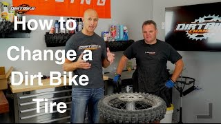 How to Change a Dirt Bike Tire - Episode 170