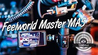 """Feelworld Master MA5 - 5"""" Gimbal Monitor im Test - der bessere, kleinere und leichtere F6!"""