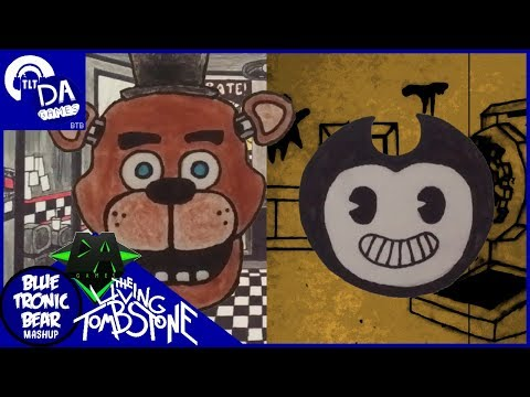 FREDDY & BENDY STORY MASHUP (FNAF & BATIM) - Monstrosity (TLT & DAGames) - Blue Tronic Bear