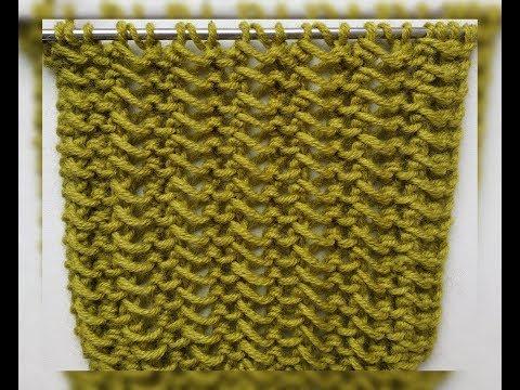 Красивый узор спицами / Knitting Pattern