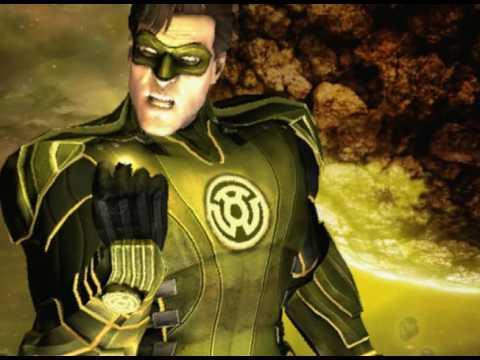 Injustice Gods Among Us Yellow Lantern Hal Jordan ...