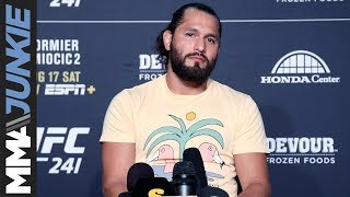 UFC 241: Jorge Masvidal full guest fighter interview