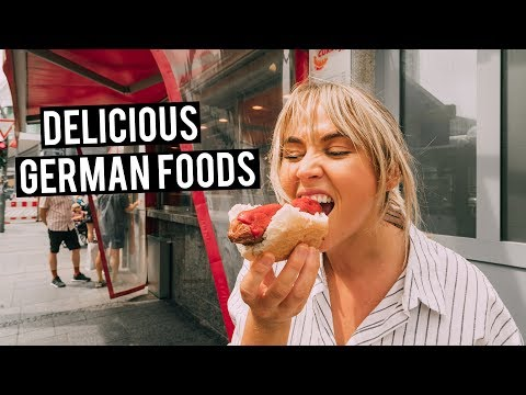 We Tried German Food in Berlin