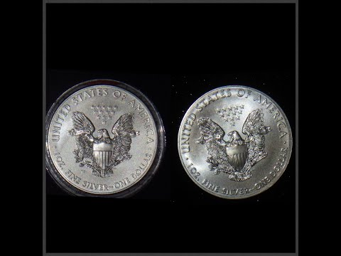 American Silver Eagle burnished vs bullion strikes