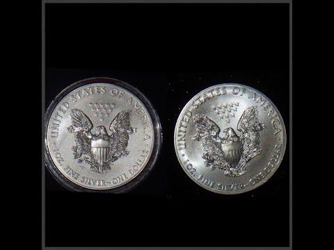 American Silver Eagle burnished vs bullion strikes
