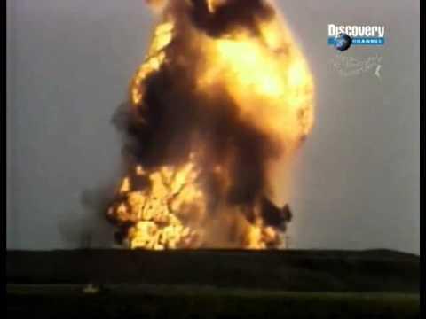 Взрыв поезда с