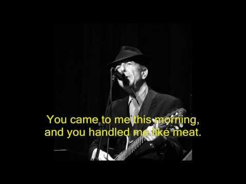 Thousand Kisses Deep  Leonard Cohen, London 2009 לאונרד כהן לונדון