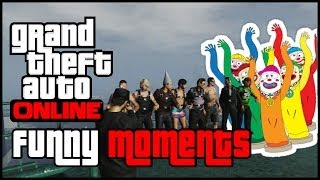 Gta Online: Funny Moments - Wacky Waving Inflatable Arm Flailing Tube Man & Sentarry
